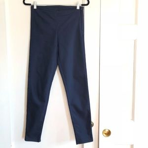 H&M Dark Blue Slim Skinny Fit Pants